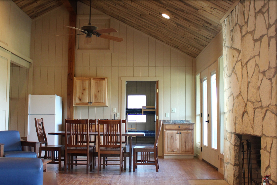 Learn more about our cabins